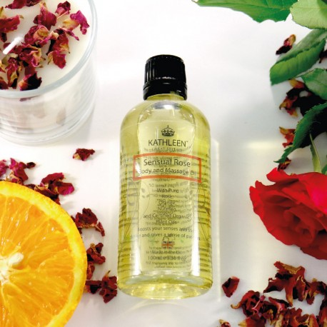 Sensual Rose Body and Massage Oil