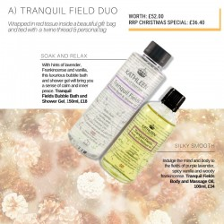 CHRISTMAS GIFT SET - Tranquil Field Duo