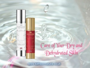 Goodbye to dry and dehydrated skin
