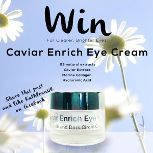Giveaway Caviar Enrich Eye Cream in Social Media