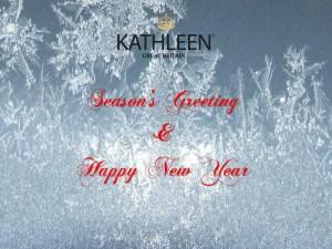 Season's Greeting and Happy New Year
