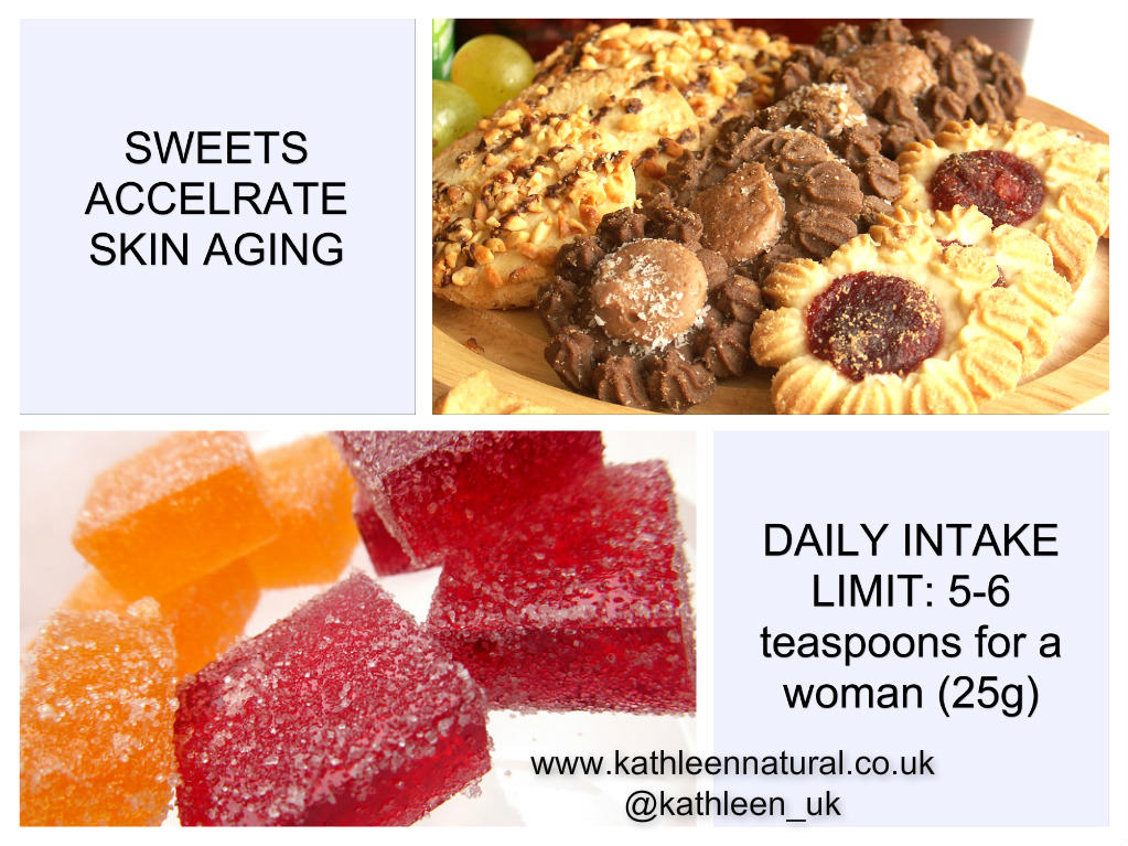 Sweets accelerate skin aging; How to reduce the aging process?